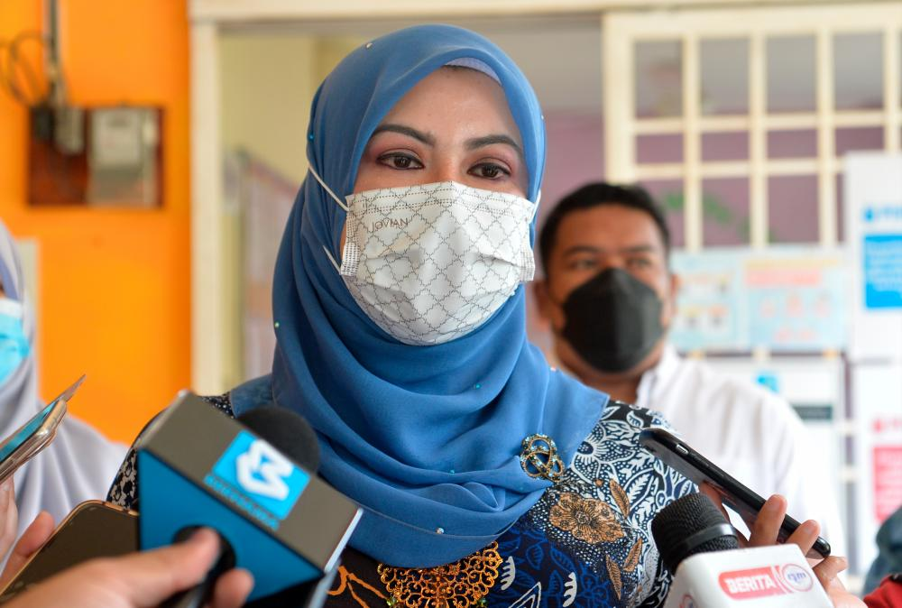 Women, Family and Community Development Minister Datuk Seri Rina Mohd Harun. BERNAMApix