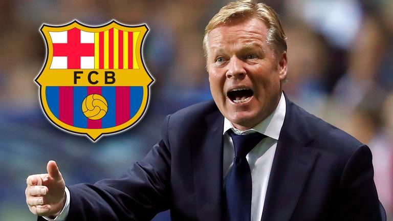 Koeman not worried about Barcelona future