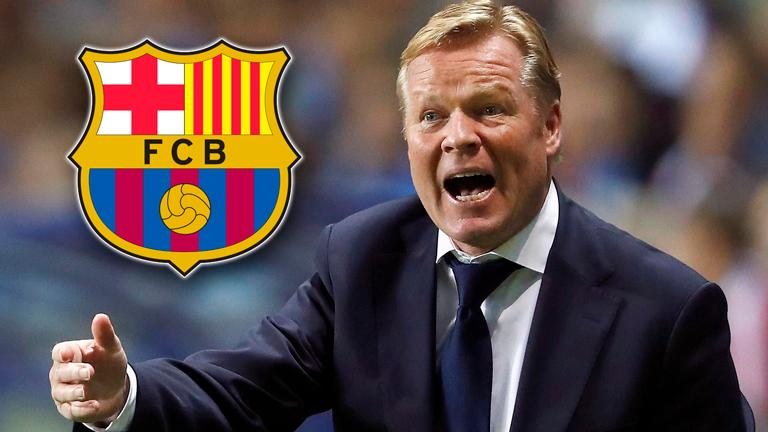 Barca's Koeman has no issue with players' commitment