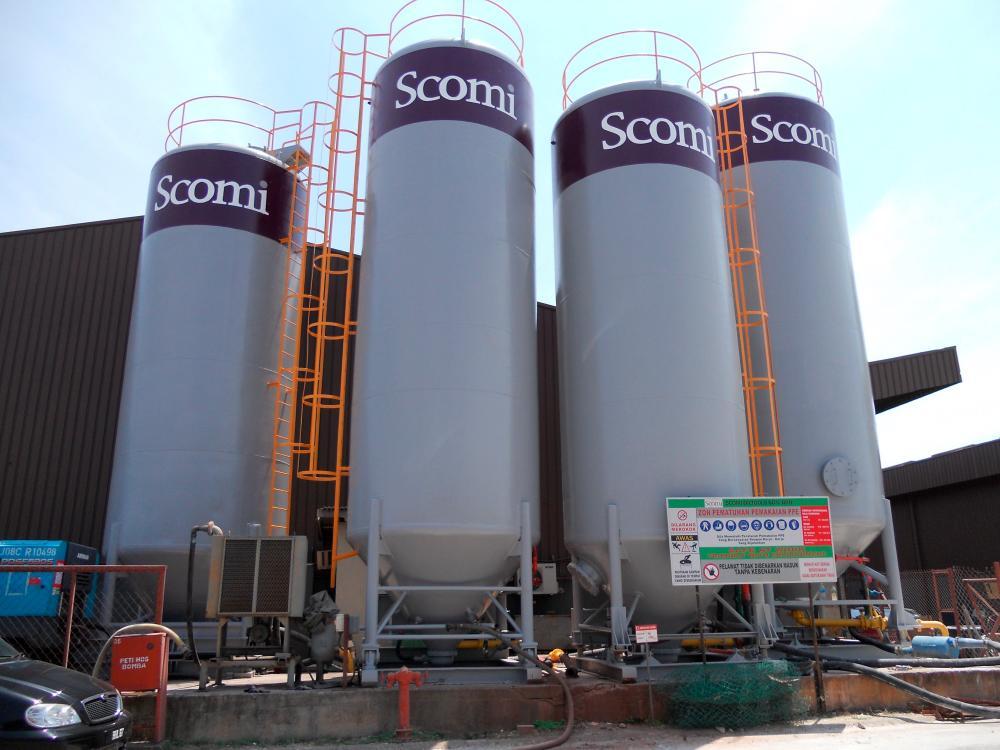 Scomi Energy - Liquid Mud Plant in Kemaman, Terengganu.