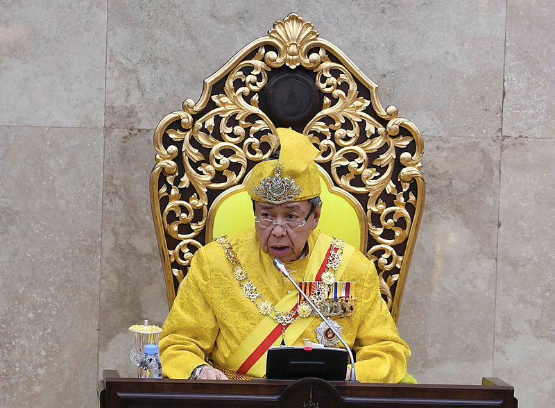 Stop saying PN backdoor government, it's inaccurate, says Selangor Sultan