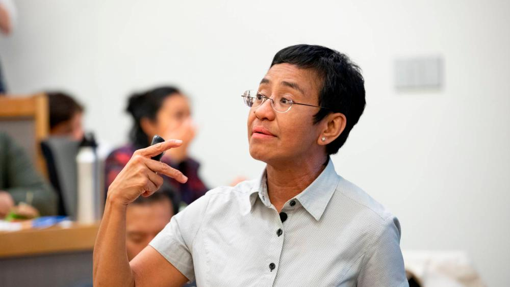 Maria Ressa was awarded the Nobel Peace Prize for 2021.
