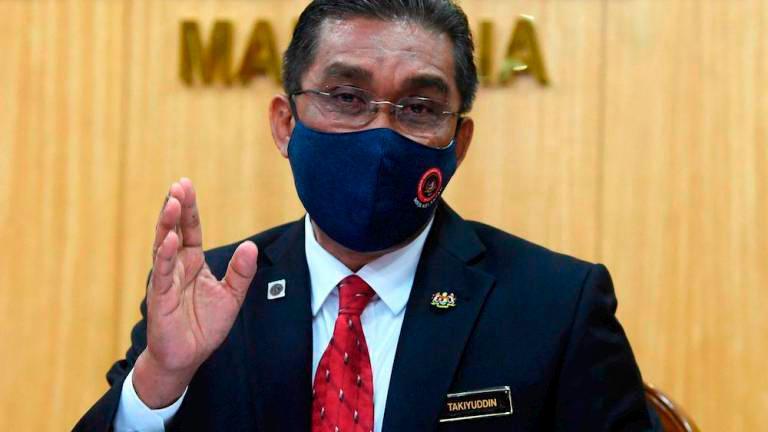 'Takiyuddin should resign, not merely apologise'
