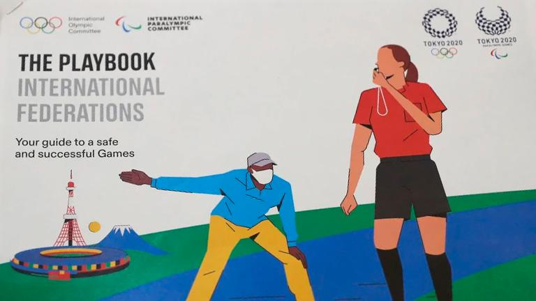 No hugs or high-fives: Olympic organisers unveil athlete rulebook