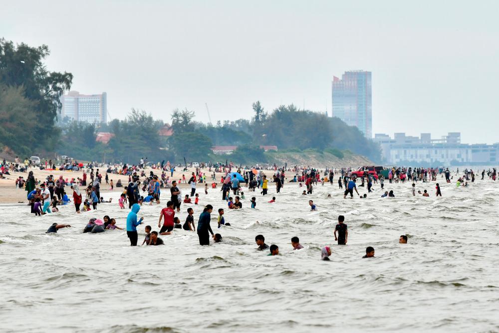 Pantai Pandak, Chendering in Terengganu on Sept 26, 2021 - BERNAMApix