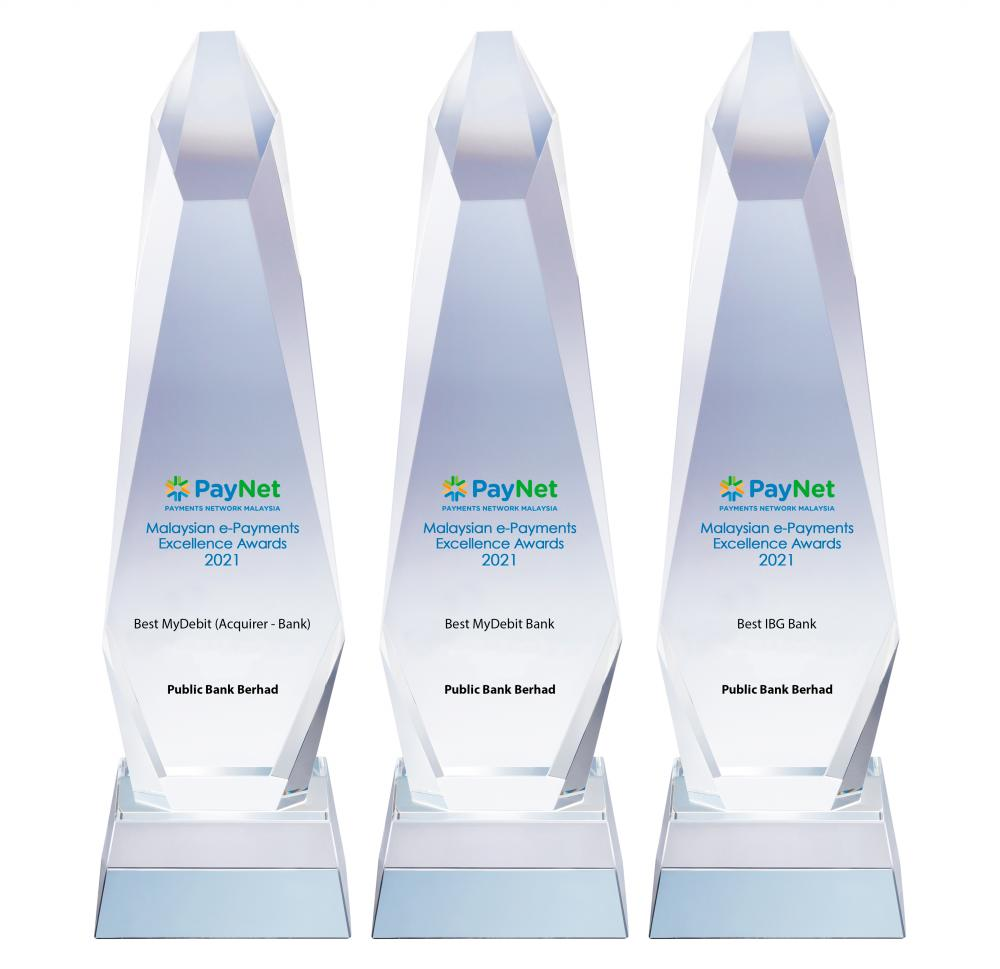 Public Bank wins 3 e-Payments awards