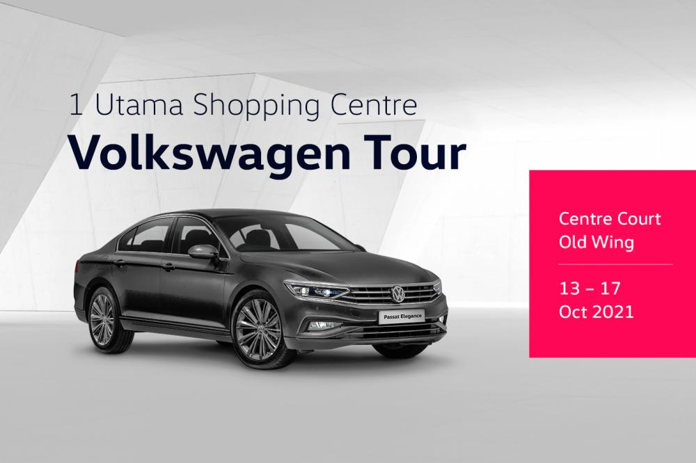 VW Tour at mall offers discount, test drive