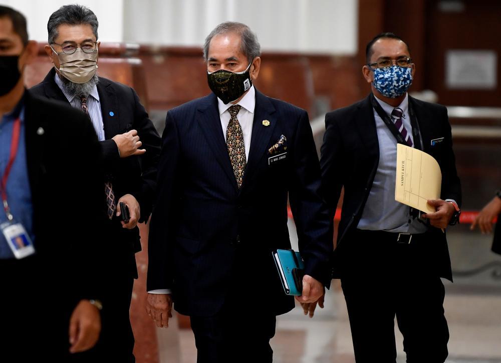 Minister in the Prime Minister's Department (Parliament and Law) Datuk Seri Dr Wan Junaidi Tuanku Jaafar. BERNAMApix