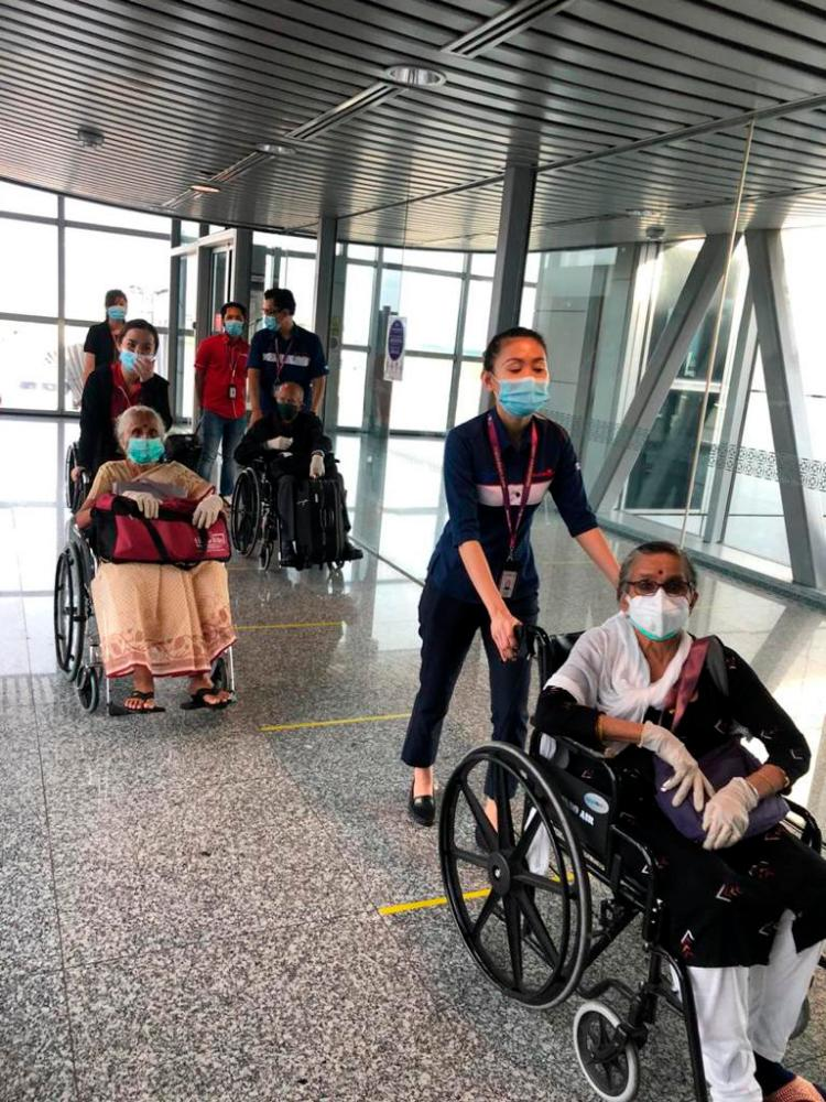 40 Malaysians return from Kerala after being stranded for 2 months
