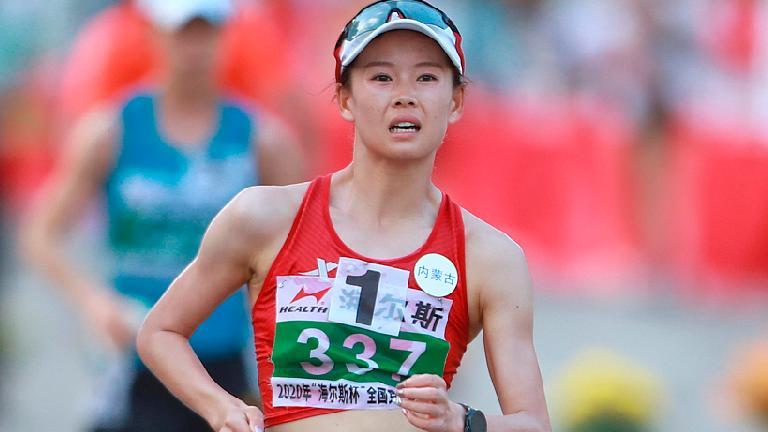 China's Yang breaks women's 20km race walk world record
