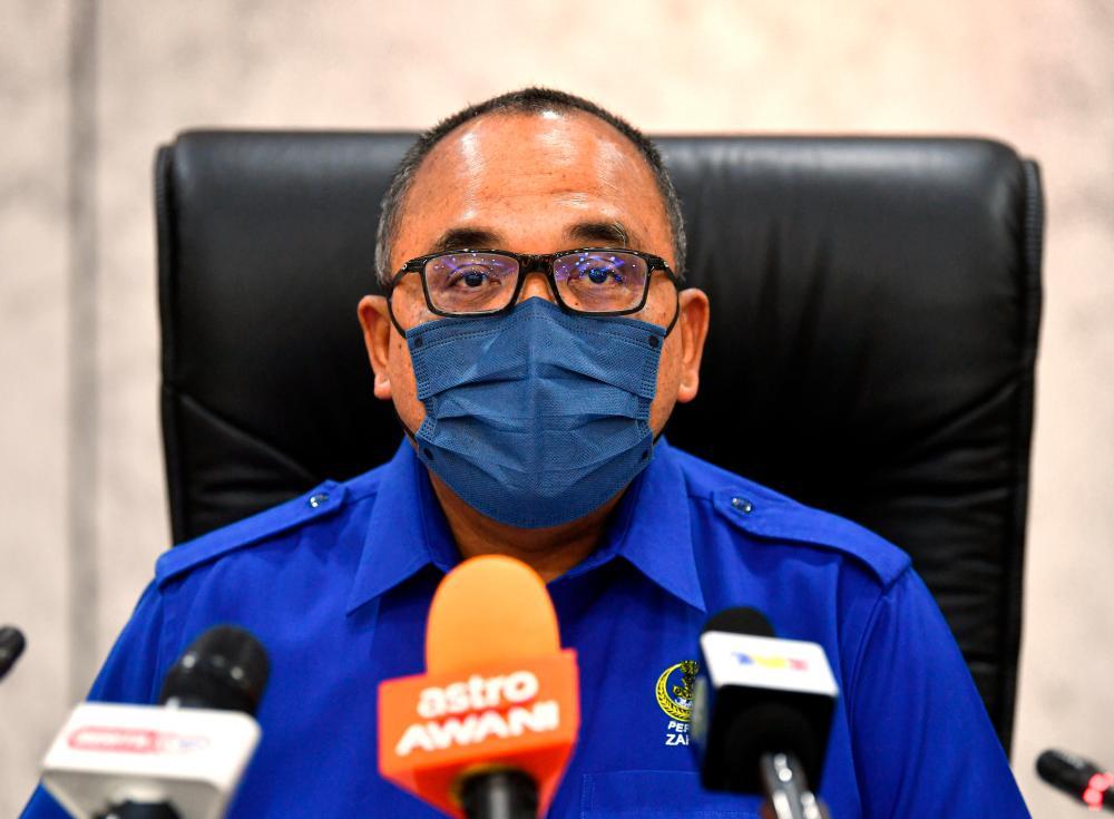 Datuk Mohammad Zahir Abdul Khalid. — Bernama