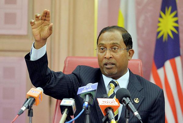 Former Perak mentri besar Datuk Seri Zambry Abd Kadir. — Bernama