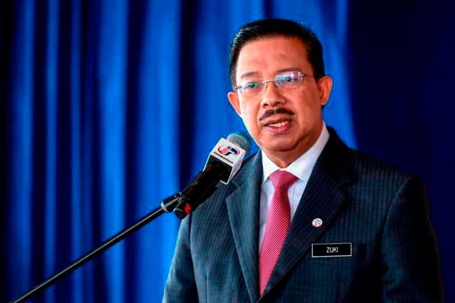 Chief Secretary to the Government Tan Sri Mohd Zuki Ali. — Bernama